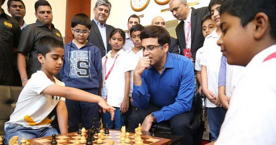 Viswanathan Anand a deti