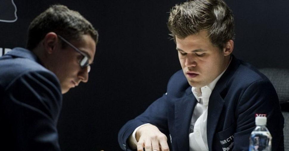 Caruana a Carlsen