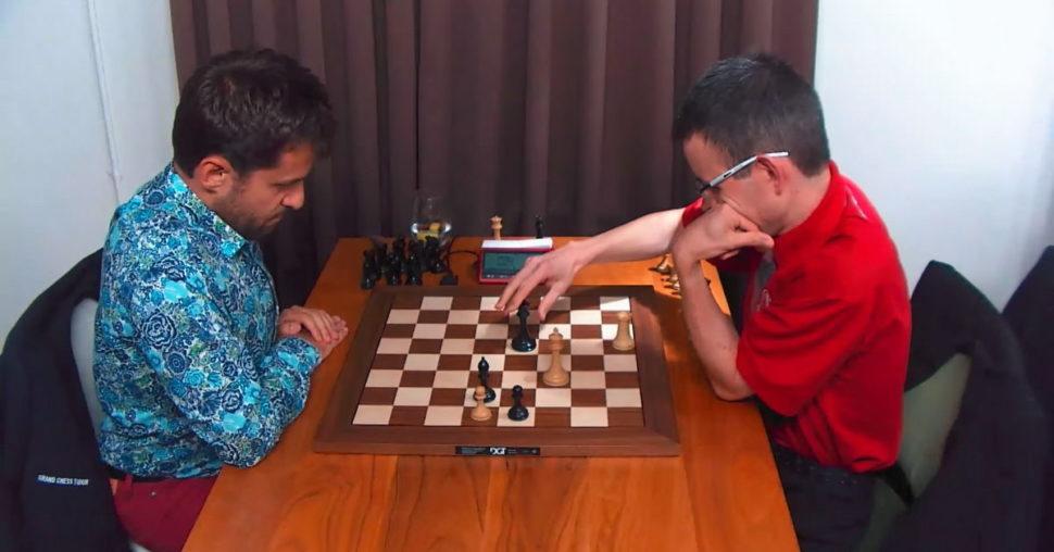 Aronian a Navara